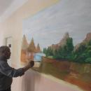 لوحات فنية لجمعية الرملاية التطوعية