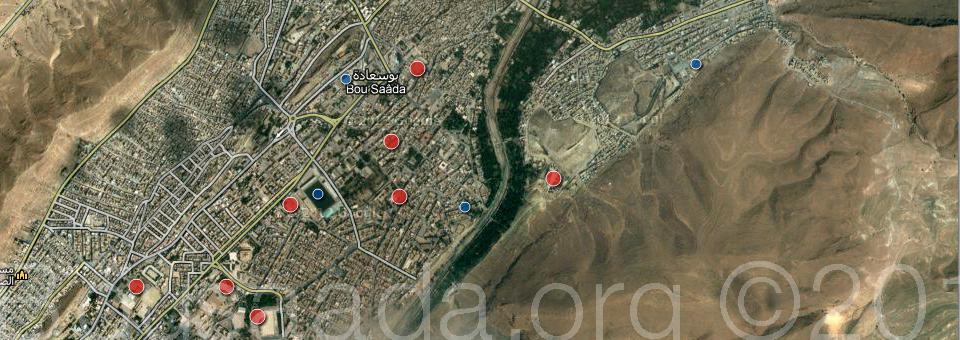 المواقع الجغرافية